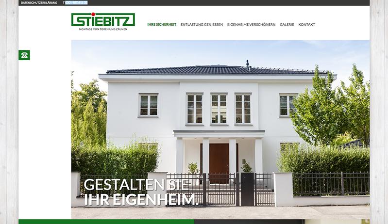 Mehr Informationen zu der Montage von Toren und Zäunen auf: www.stiebitz-montagen.de